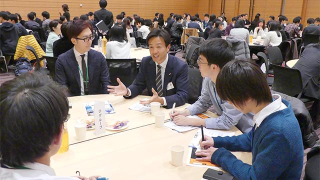 NPO法人ドットジェイピー主催「国会×若者交流会」に青年局役員が出席