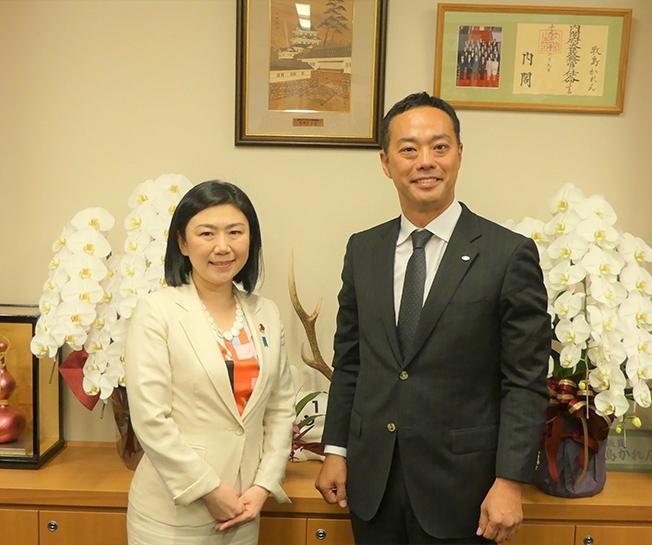 全日本トラック協会青年部会全国大会に出席